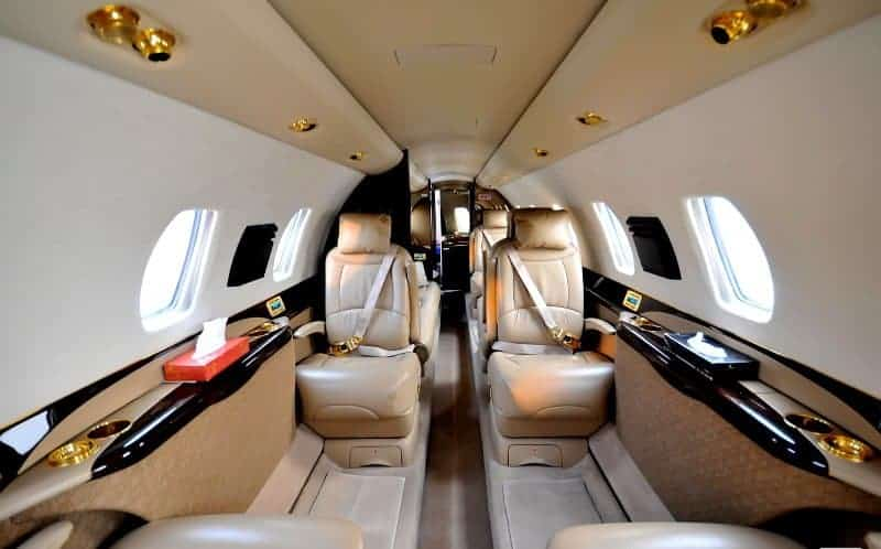 Citation Sovereign Private Aircraft charter