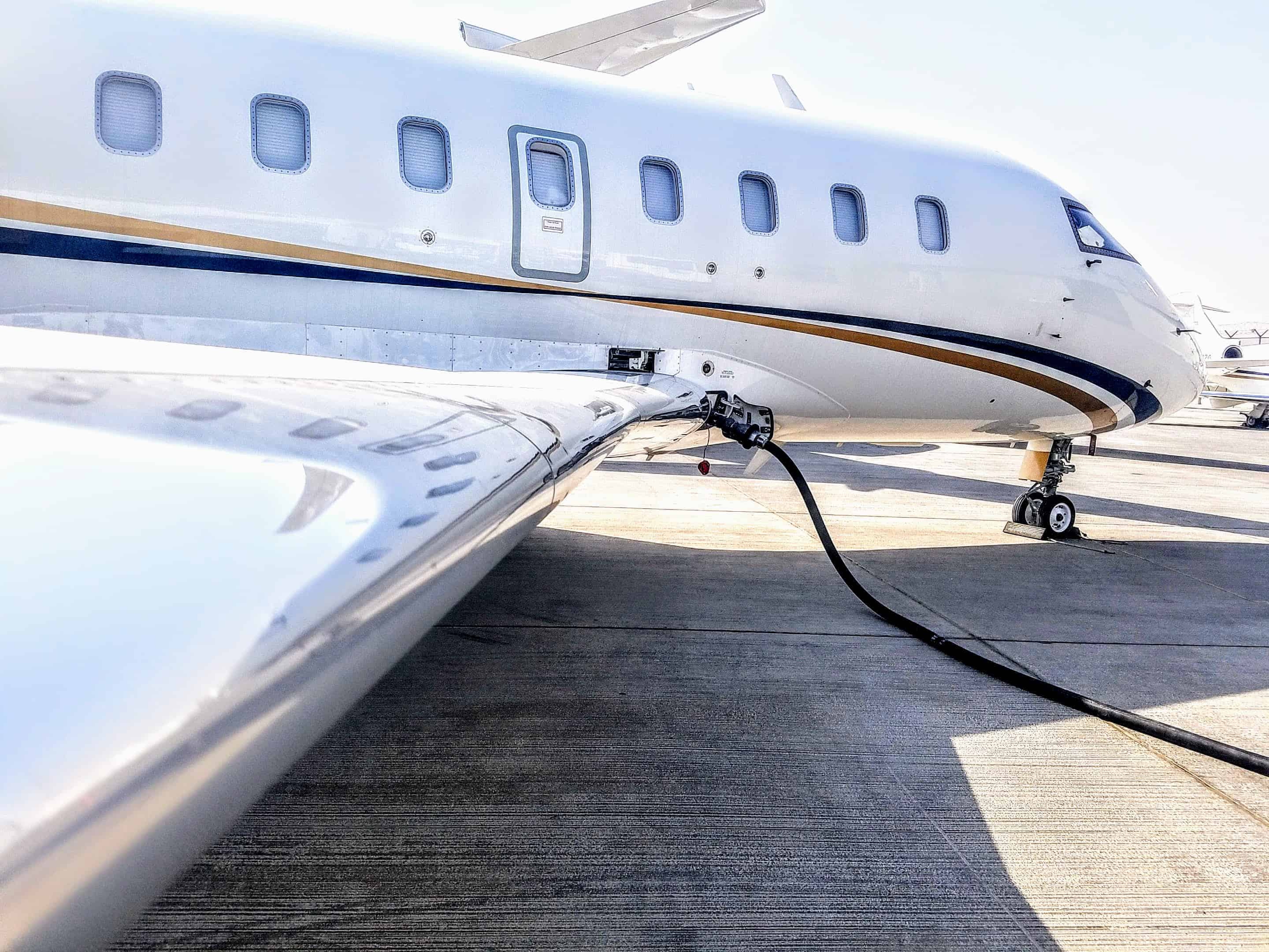 Jet fuel for private Jets