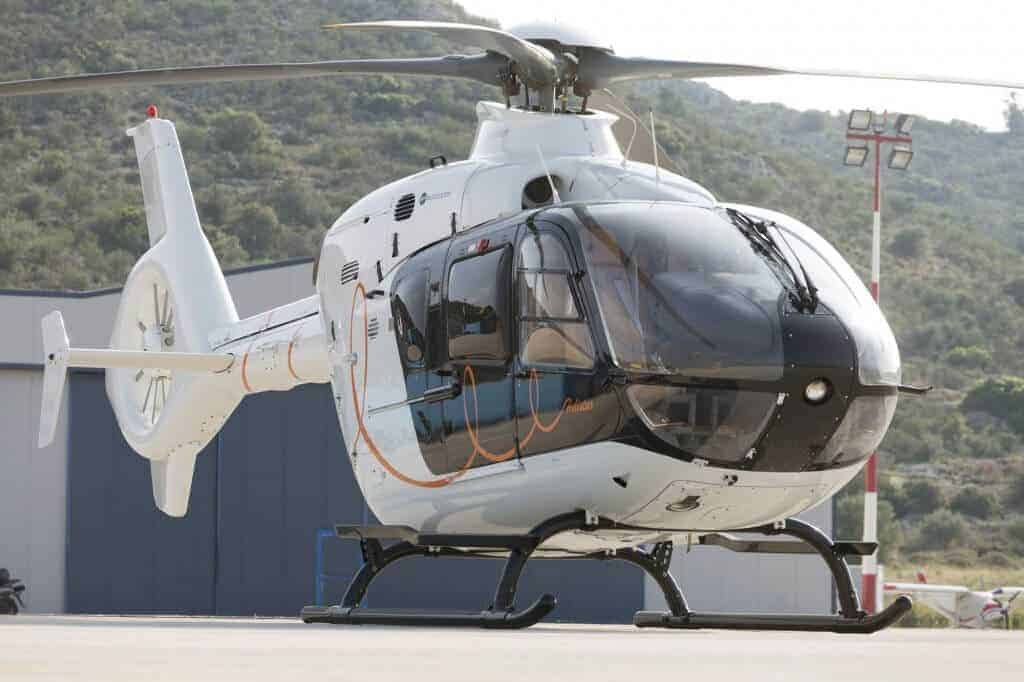 Mykonos helicopter charter